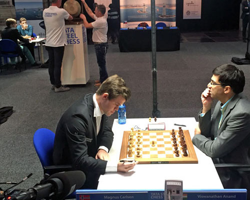Topduel Carlsen vs Anand